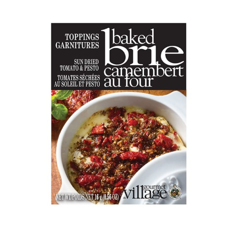 Gourmet Du Village Sun dried Tomato Brie Topping