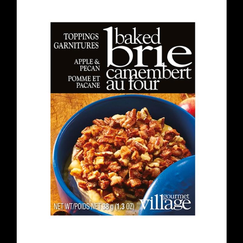 Gourmet Du Village Apple & Pecan Brie Topping