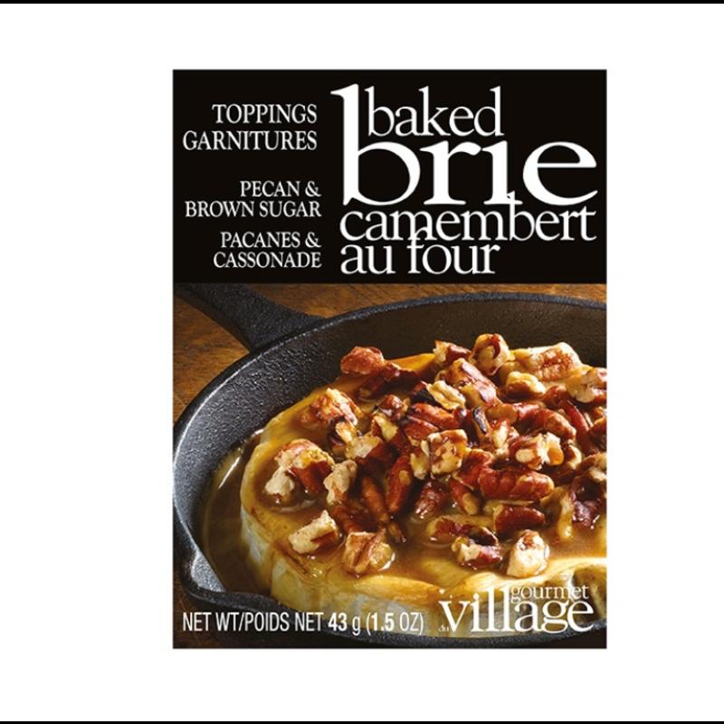 Gourmet Du Village Pecan & Brown Sugar Brie Topping