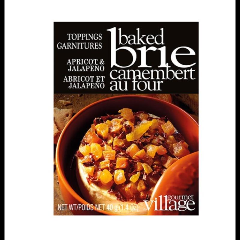 Gourmet Du Village Apricot & Jalapeno Brie Topping