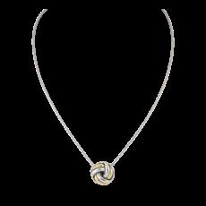 John Medeiros John Medeiros - Infinity Knot Two Tone Slider Necklace