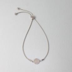 Ella Stein Ella Stein Right Round Bracelet .14 Diamond Weight - Silver