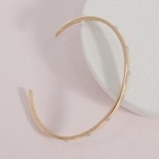 Ella Stein Ella Stein Gold Lucky 7 Bracelet .11 Diamond Weight - Gold