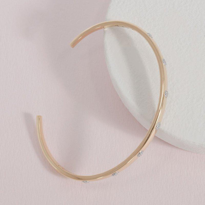 Ella Stein Gold Lucky 7 Bracelet .11 Diamond Weight - Gold