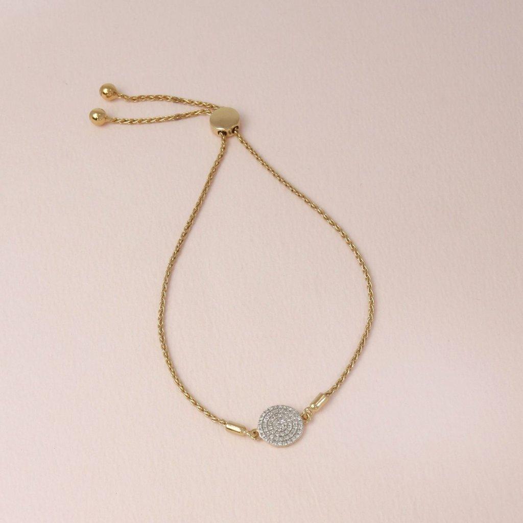 Ella Stein Ella Stein Right Round Bracelet .14 Diamond Weight - Gold