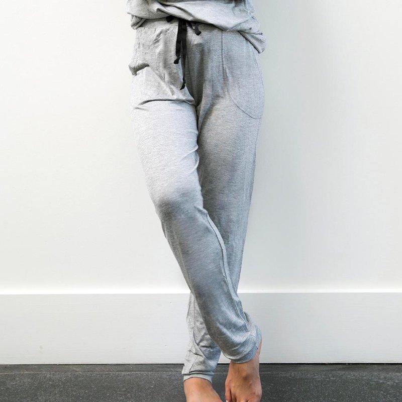 Hello Mello The Weekender Drawstring Pant - Grey - XL