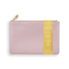 Katie Loxton Birthstone Perfect Pouch - October Tourmaline - Dusty Pink