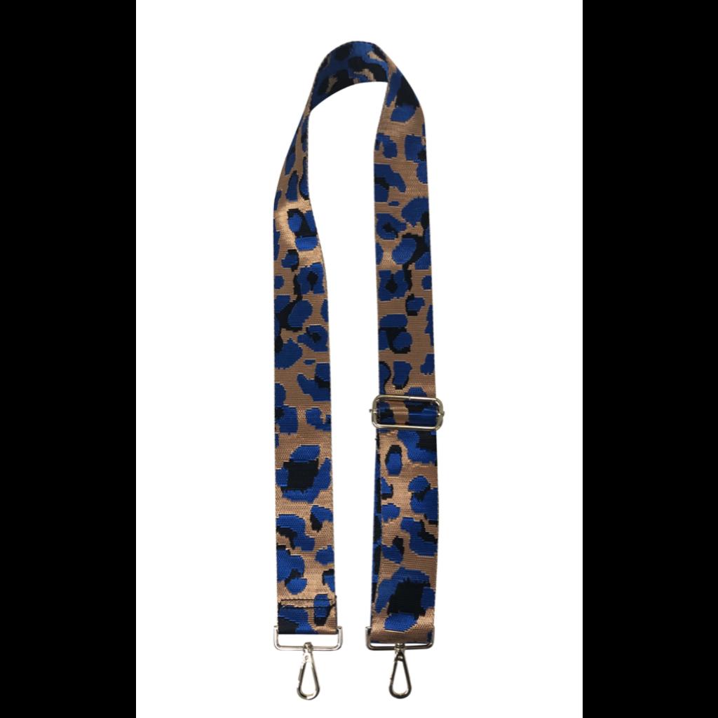 """Ahdorned Leopard Print 2"""" Adjustable Strap"""