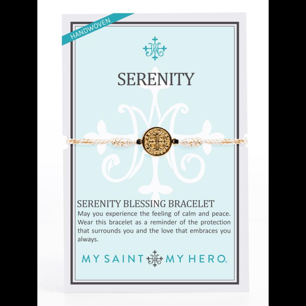 My Saint My Hero My Saint My Hero - Serenity Bracelet-Gold/Gold