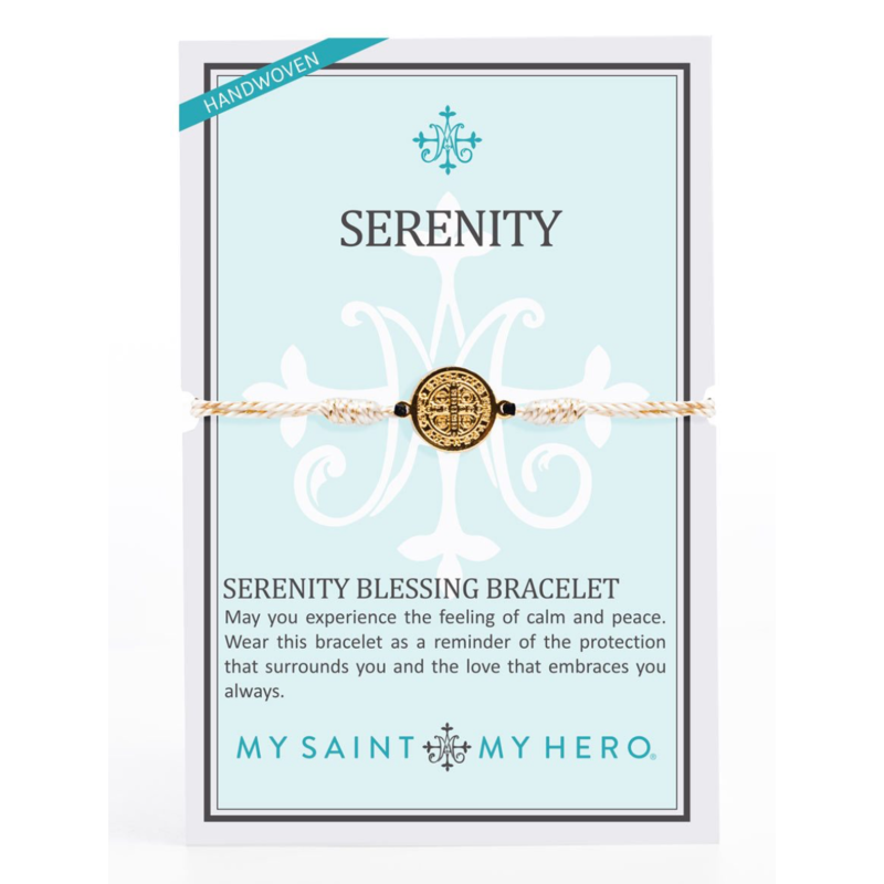My Saint My Hero Serenity Bracelet-Gold/Gold