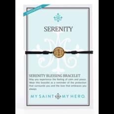 My Saint My Hero My Saint My Hero - Serenity Bracelet- Black/Gold