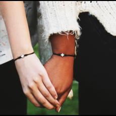 My Saint My Hero My Saint My Hero - Prayer Partner Bracelets - Black/Gold