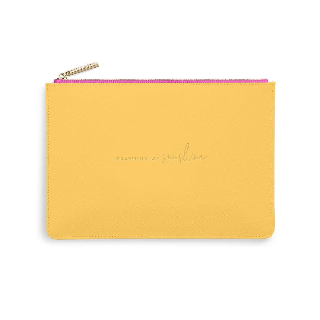 Katie Loxton Color Pop Perfect Pouch - Dreaming of Sunshine - Ochre & Fuchsia