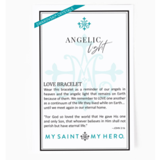 My Saint My Hero My Saint My Hero - Angelic Light Bracelet - Silver/Pink/Crystal AB