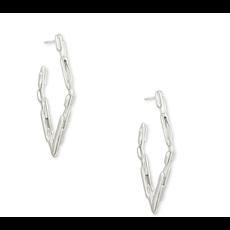 Kendra Scott Rylan Sm Hoop Earring - Silver