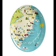"Galleyware Galleyware 16"" Platter - Jersey Shore"