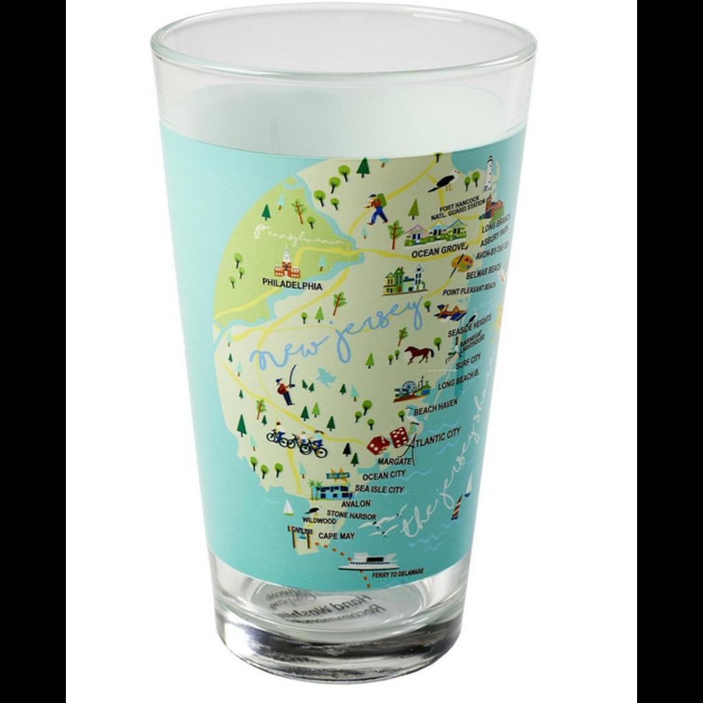 Galleyware Galleyware Pint Glass - Jersey Shore