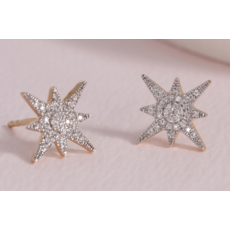Ella Stein Ella Stein Stargazer Earrings .11 Diamond Weight - Gold