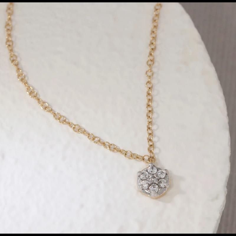 Ella Stein Ono Necklace .10 Diamond Weight - Gold