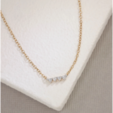Ella Stein Ella Stein Oyo Necklace .10 Diamond Weight - Gold