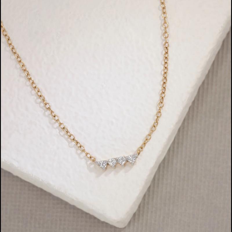Ella Stein Oyo Necklace .10 Diamond Weight - Gold