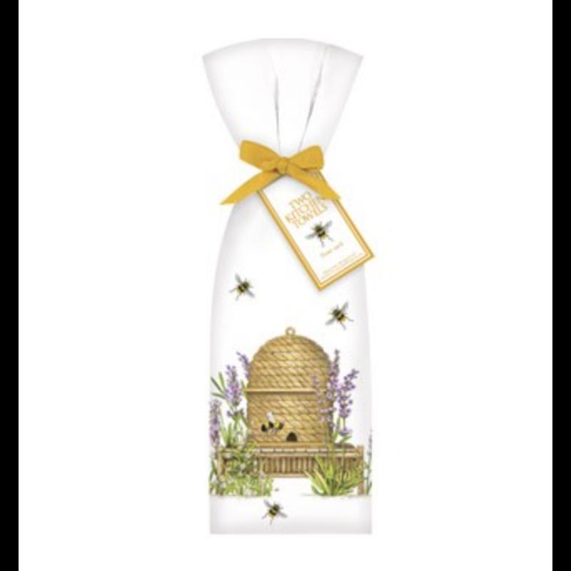 Mary Lake-Thompson Lavender Beehive Towel Set