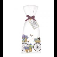 Mary Lake-Thompson Mary Lake-Thompson White Bike Dachshund Towel Set