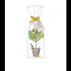 Mary Lake-Thompson Mary Lake-Thompson Lemon Tree Bucket Towel Set