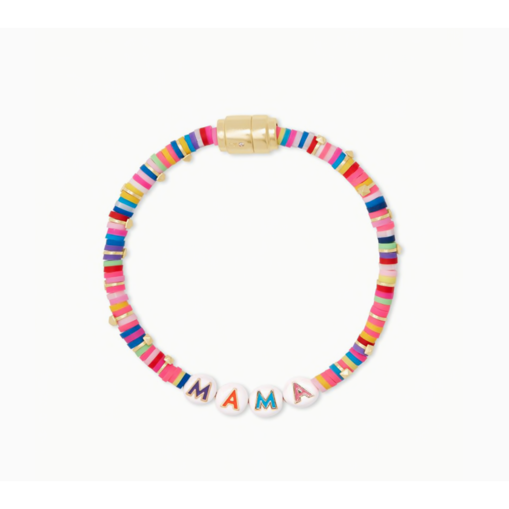 Kendra Scott Kendra Scott Reece Mama Friendship in  Bracelet Gold Pink Mix