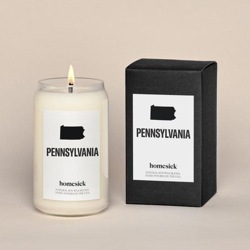 Homesick Pennsylvania Candle