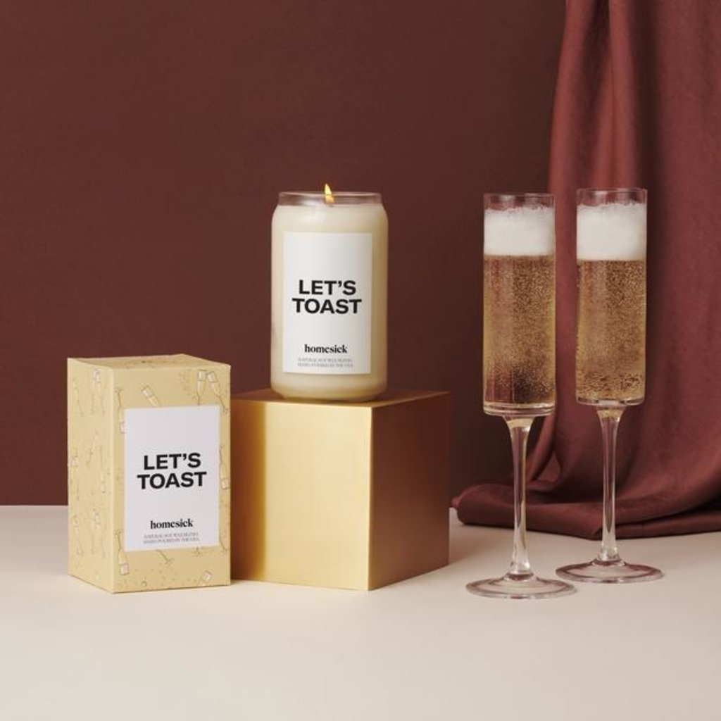 Homesick Homesick Let's Toast Candle