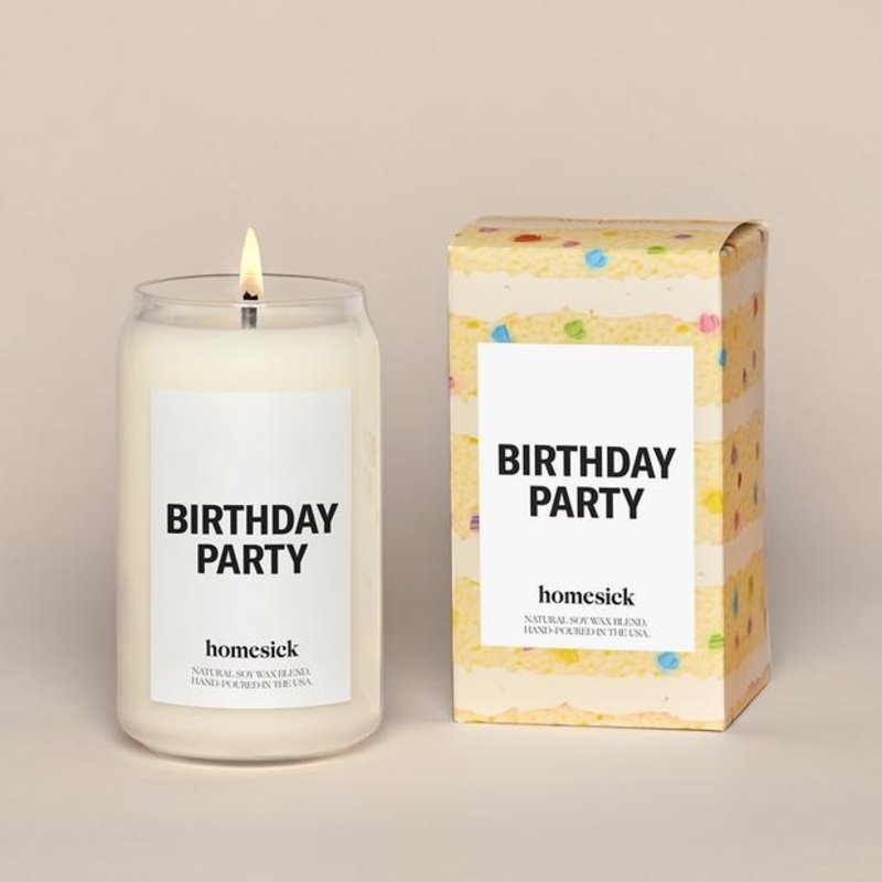 Homesick Birthday Party Candle