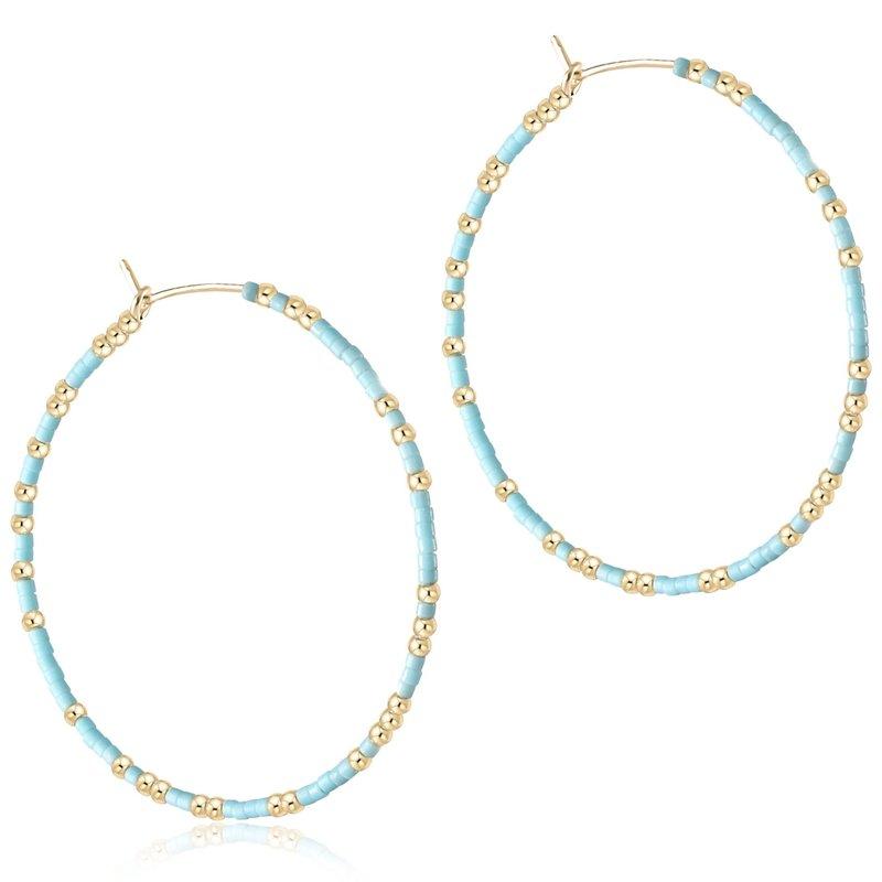 enewton Hope Unwritten Hoop - Turquoise