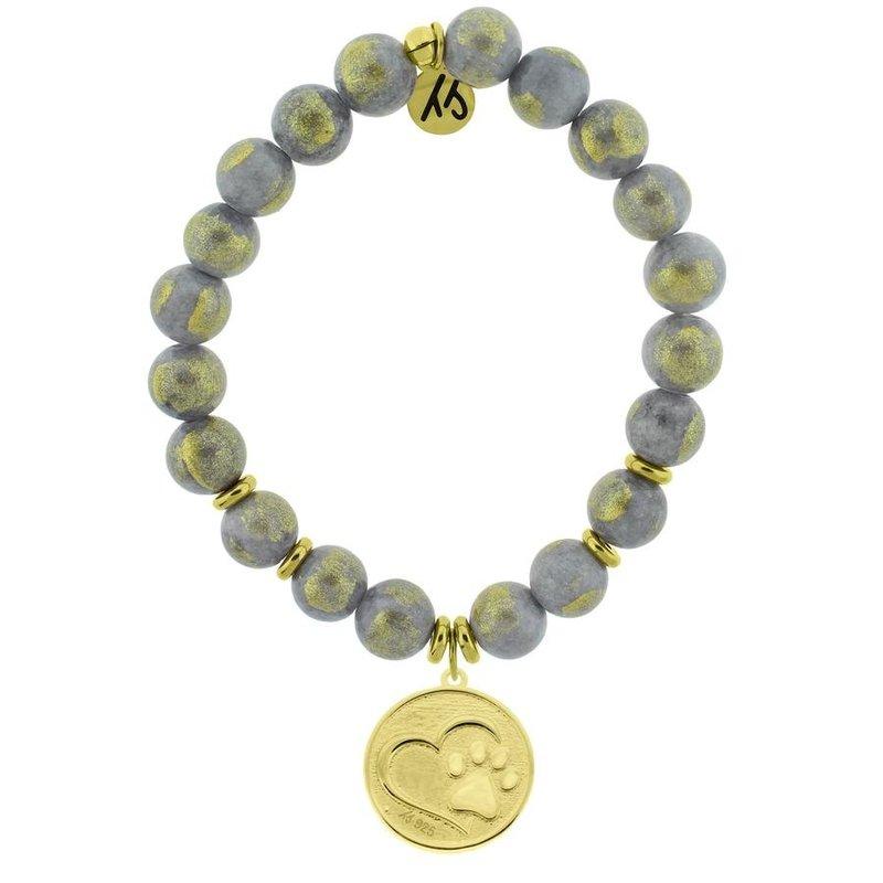 TJazelle Golden Grey Jade - Paw Gold