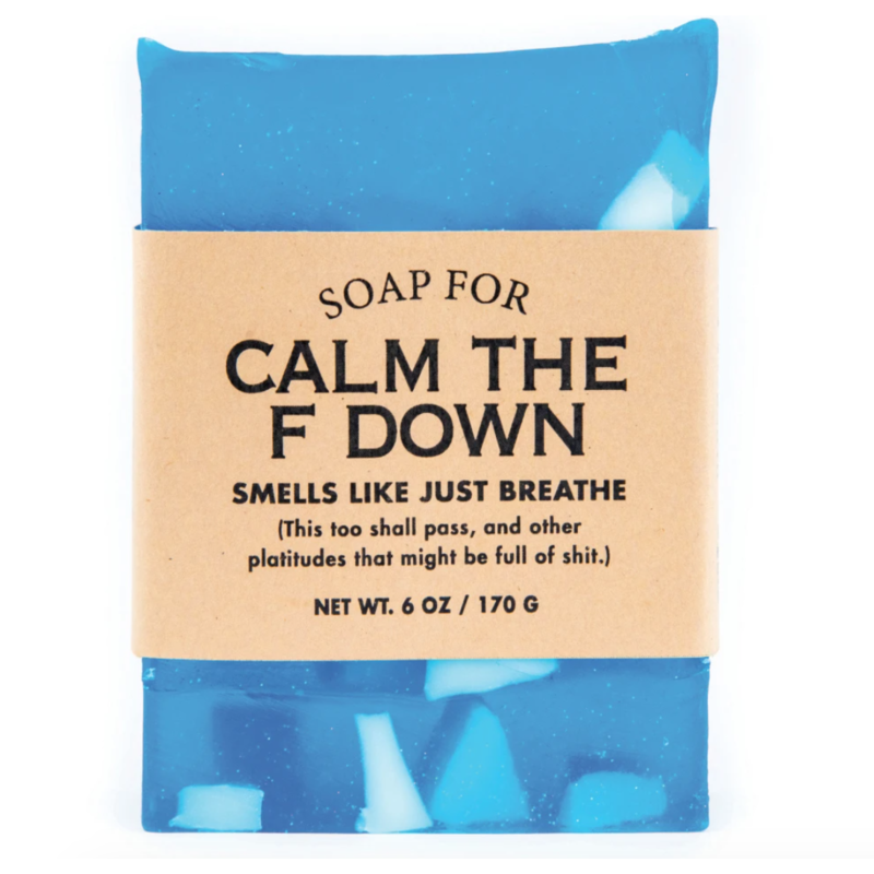 Whiskey River Soap Co. Calm the F Down Soap