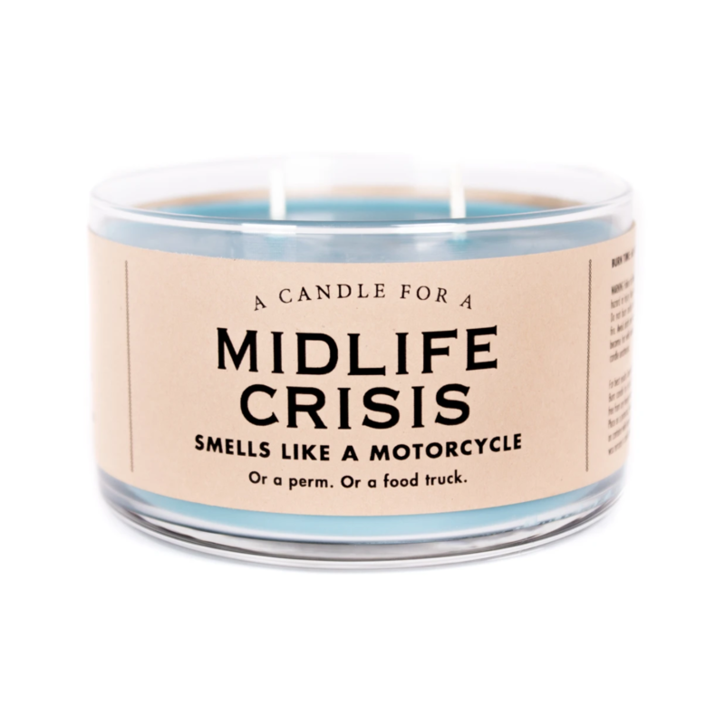 Whiskey River Soap Co. Midlife Crisis Candle