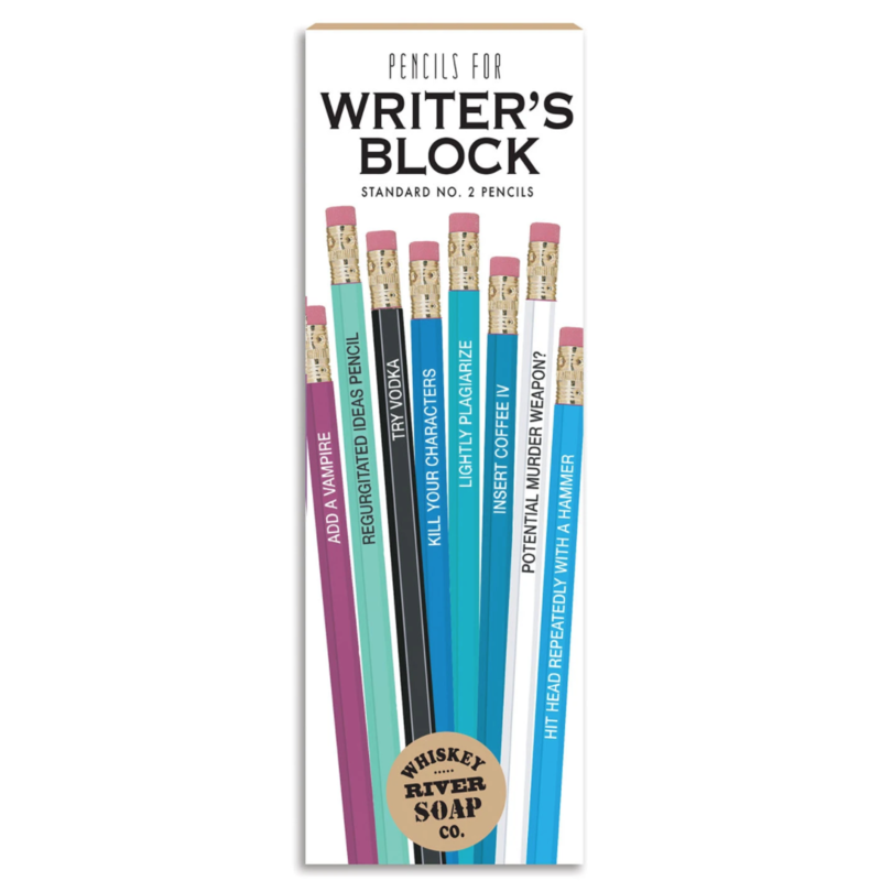 Whiskey River Soap Co. Pencils for Writer's Block