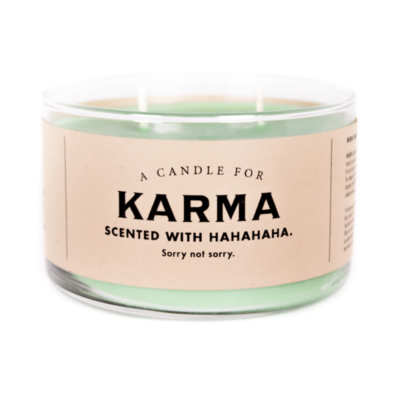 Whiskey River Soap Co. Karma Candle
