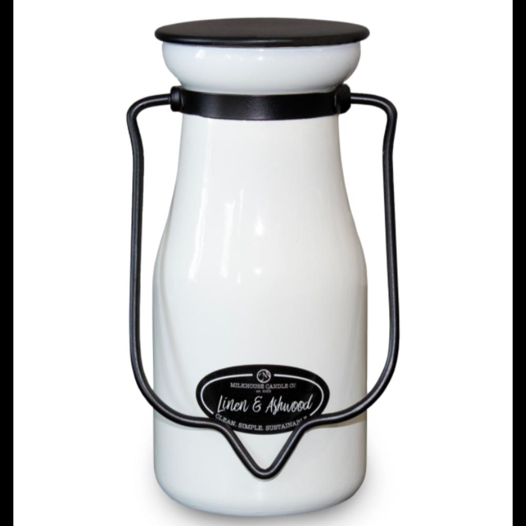 Milkhouse Candle Creamery Milkhouse Candle Creamery MilkBottle:  Linen & Ashwood