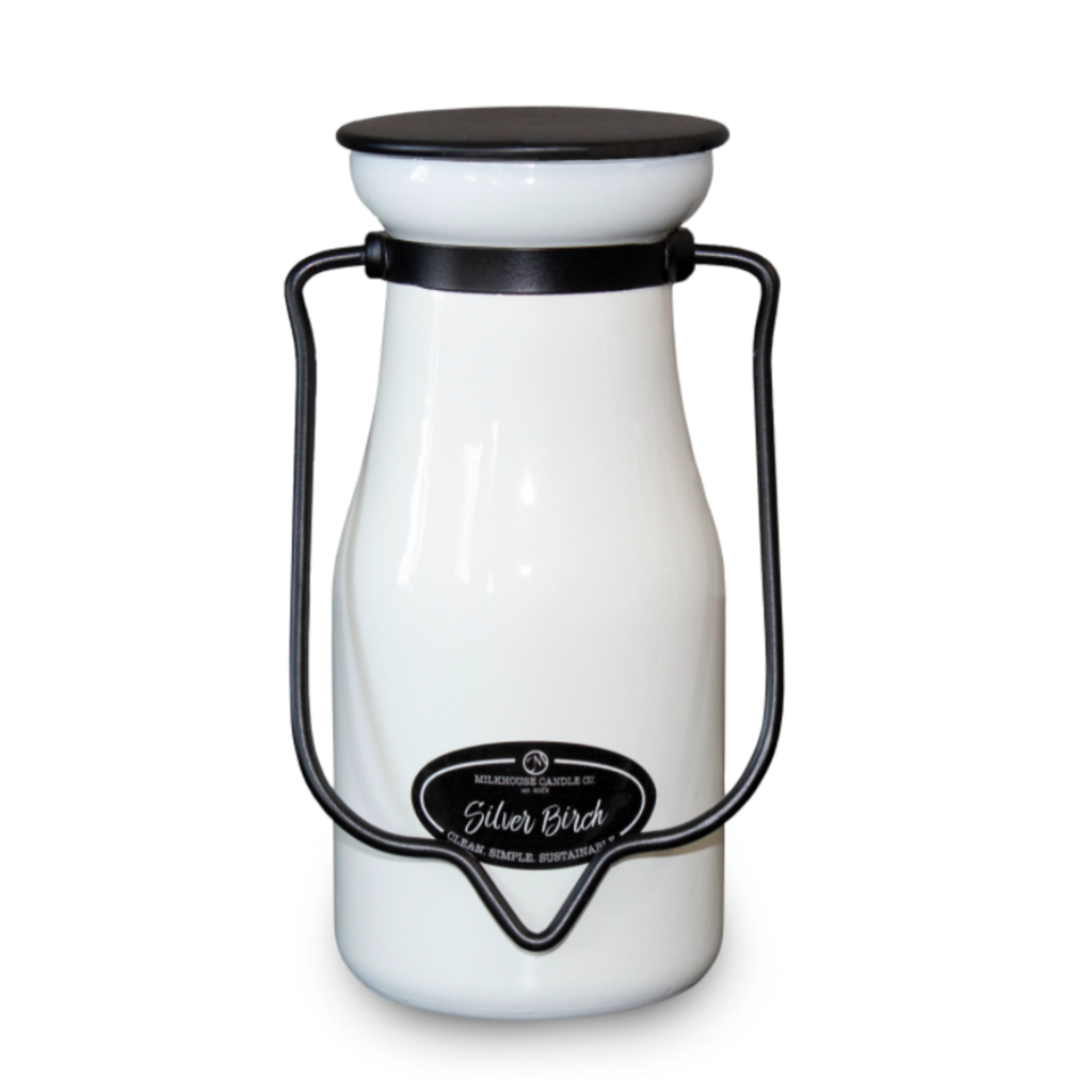Milkhouse Candle Creamery Milkhouse Candle Creamery MilkBottle:  Silver Birch