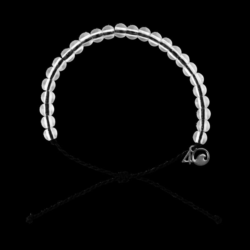 4Ocean 4Ocean Shark Black Bracelet