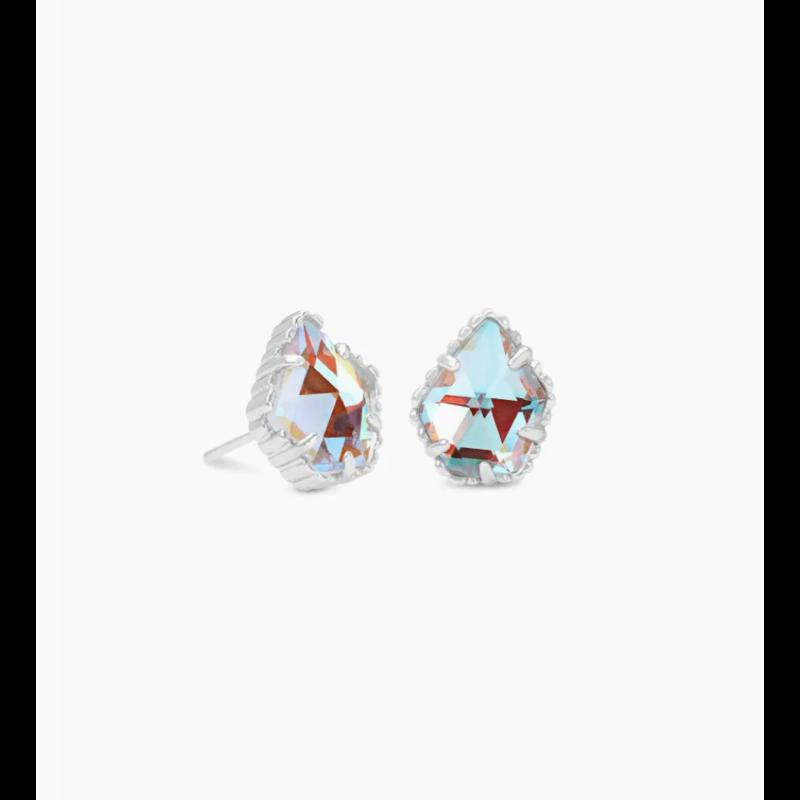 Kendra Scott Kendra Scott Tessa Earring Rhod Dichroic Glass