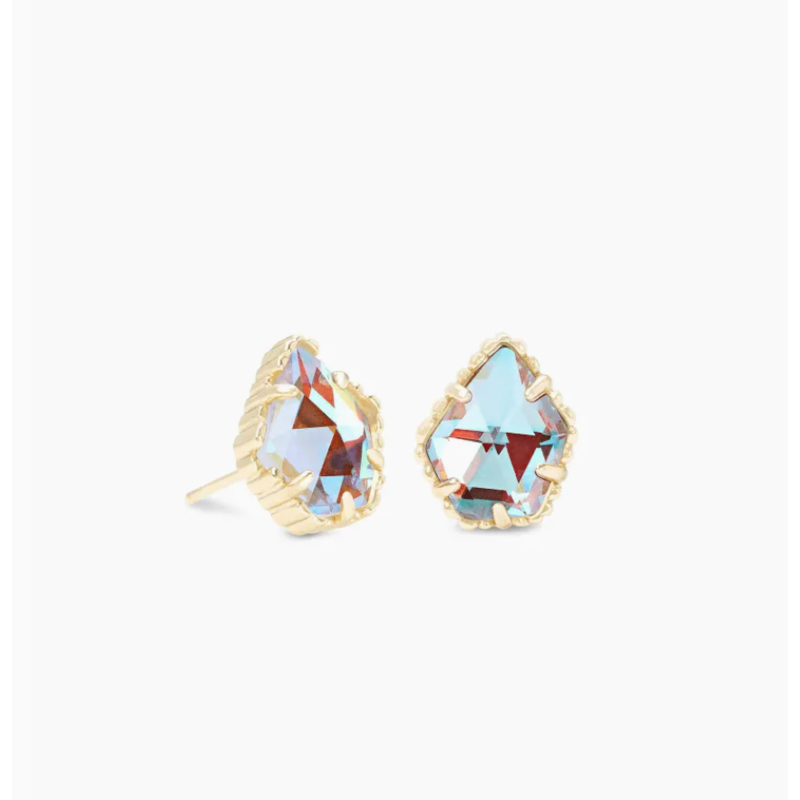 Kendra Scott Kendra Scott Tessa Earring Gold Dichroic Glass