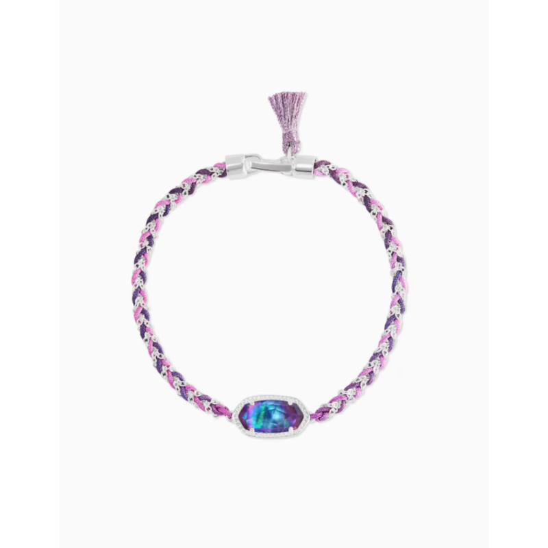 Kendra Scott Kendra Scott Elaina Braided BSV Bracelet - Lilac Abalone