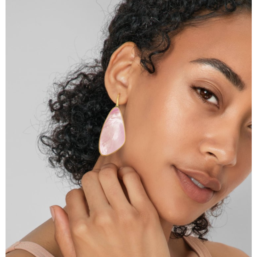 Kendra Scott Kendra Scott Mckenna Drop Earring - Gold Lilac MOP