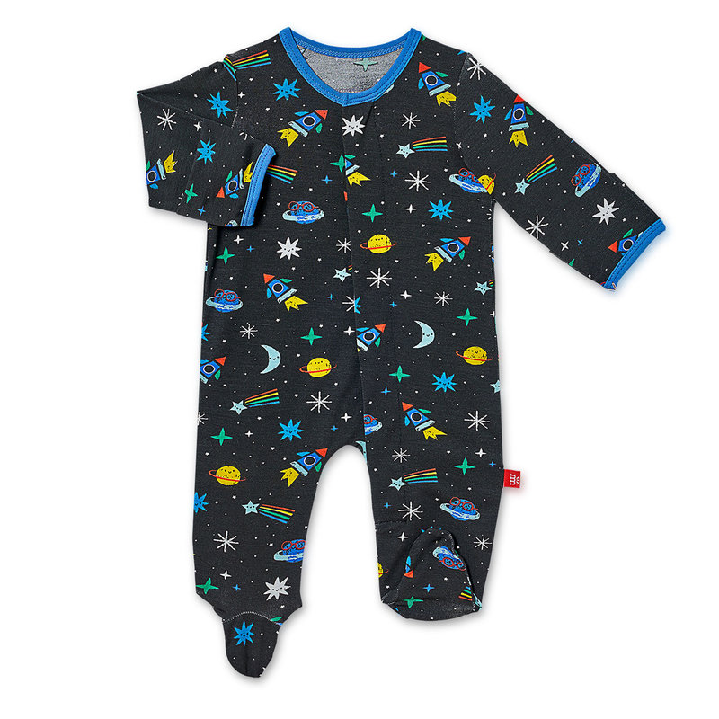Magnetic Me Space Chase Magnetic Footie - 0-3