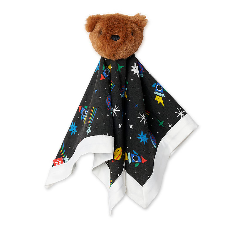 Magnetic Me Space Chase Bear Lovey Blanket