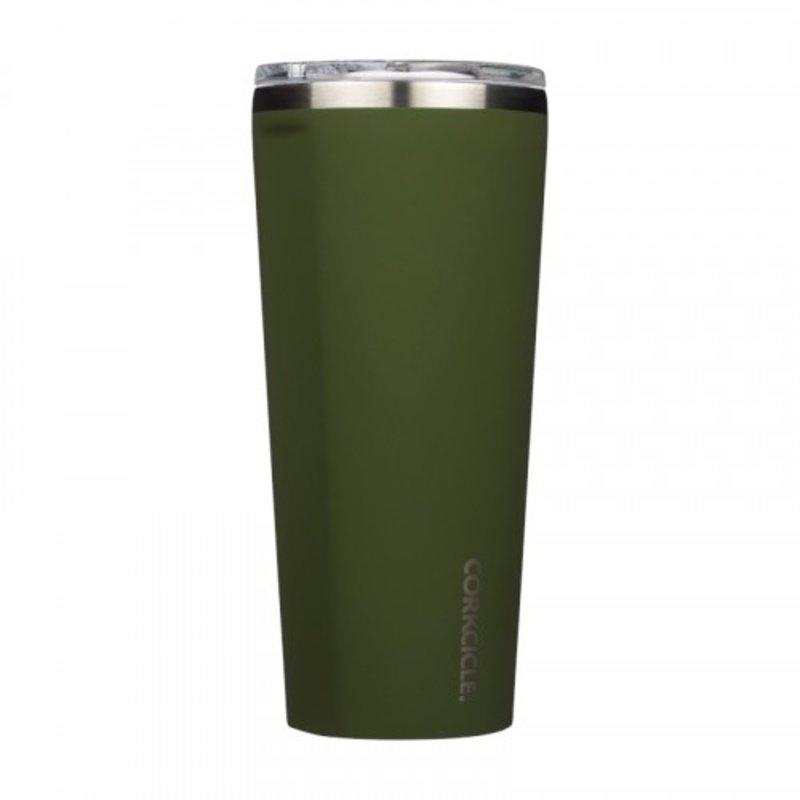 Corkcicle Gloss Olive Tumbler - 24 oz