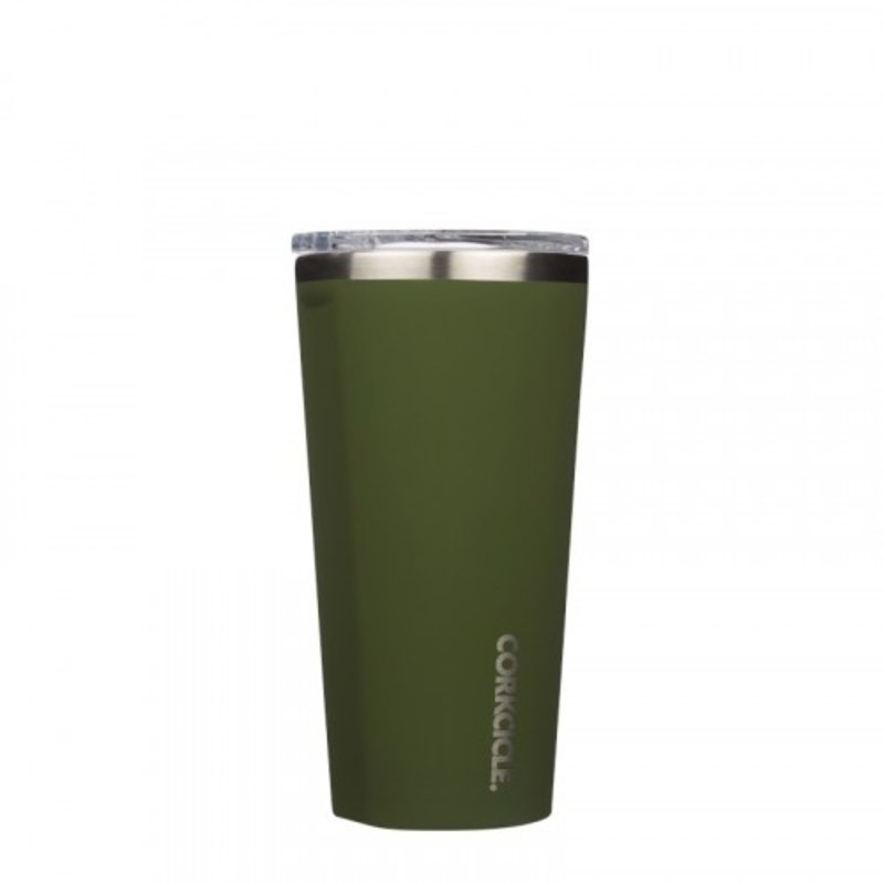 Corkcicle Gloss Olive Tumbler - 16 oz