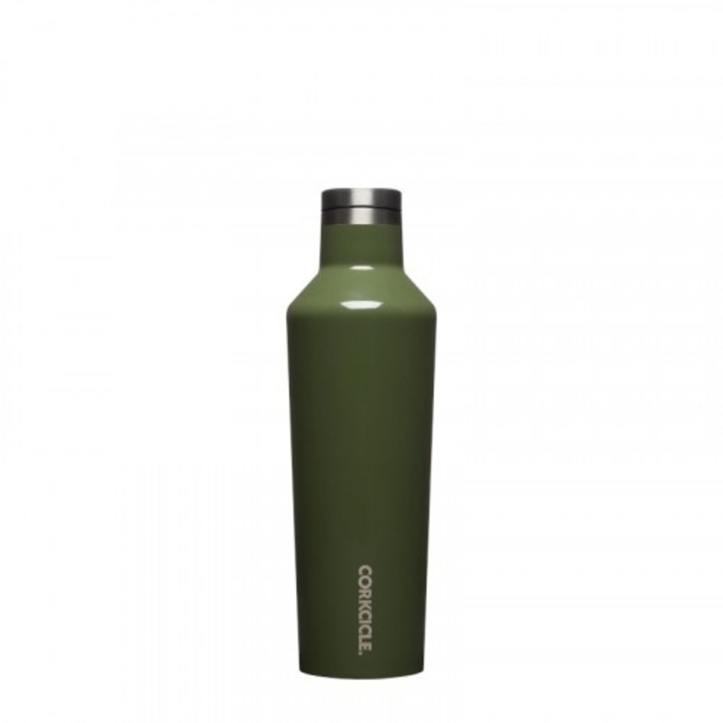 Corkcicle  Corkcicle Gloss Olive Canteen - 16 oz
